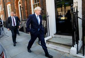 O ex-prefeito de Londres deve tomar posse como primeiro-ministro nesta quarta-feira Foto: TOLGA AKMEN / AFP