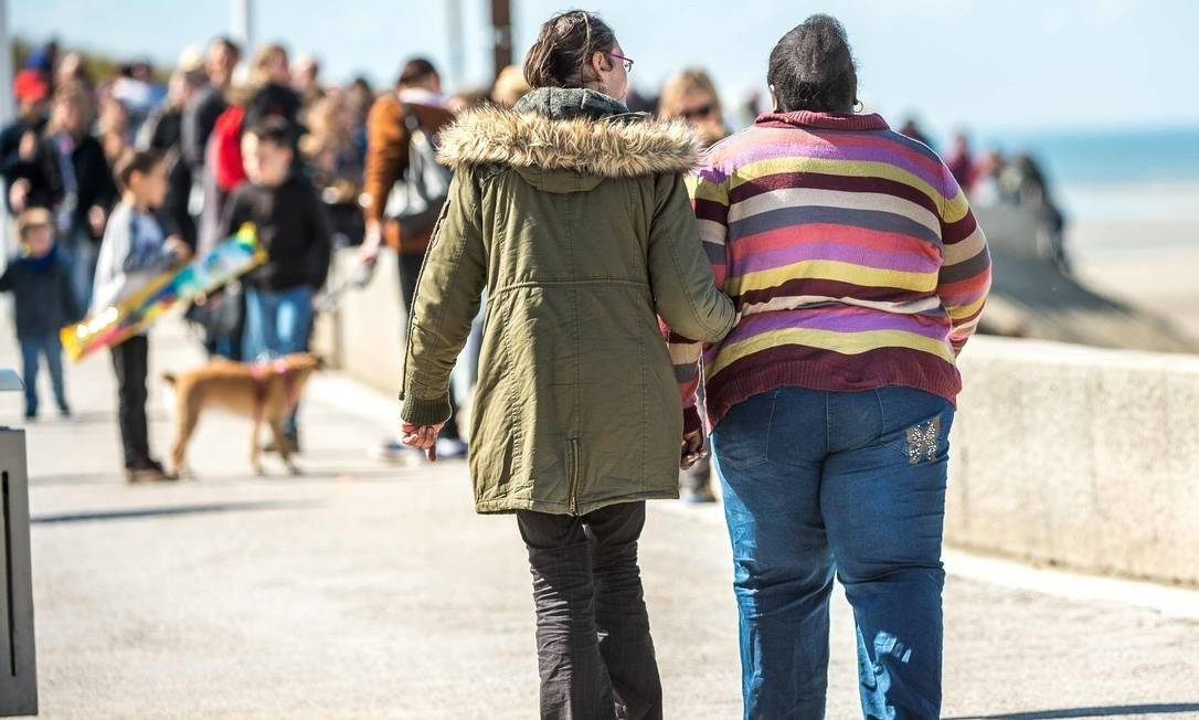 Queima de gordura seria mais rápida, ajudando na perda de peso Foto: Philippe Huguen / AFP