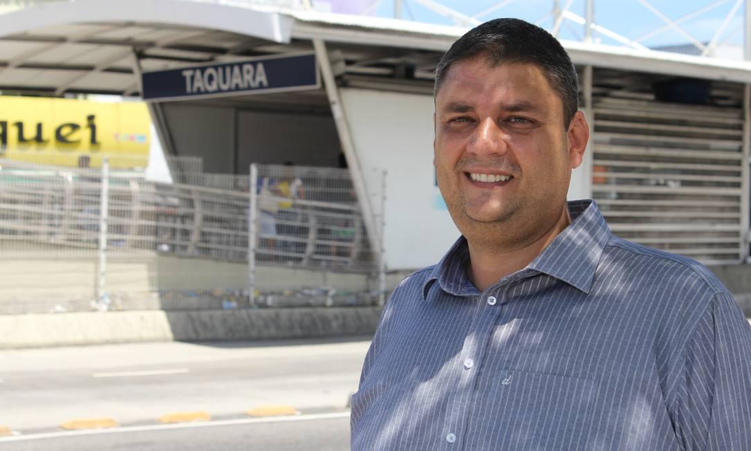 Flavio Caland em 2017, quando ainda era superintendente de Jacarepaguá Foto: Zeca Gonçalves / Zeca Gonçalves