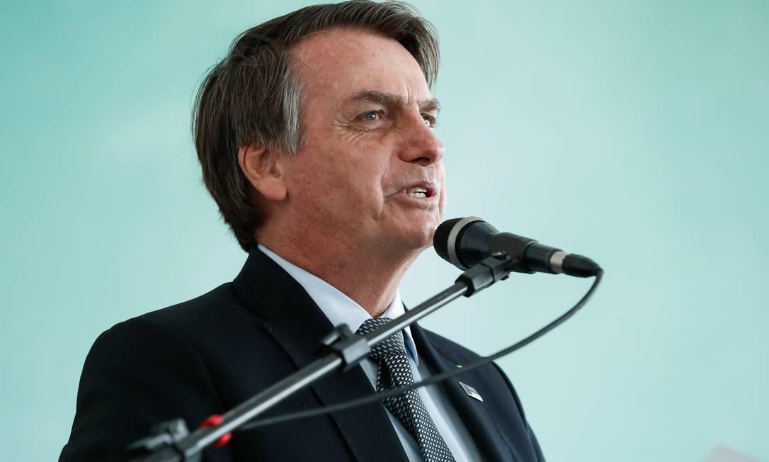 O presidente também compareceu a dois atos da Igreja Sara Nossa Terra Foto: Alan Santos/PR