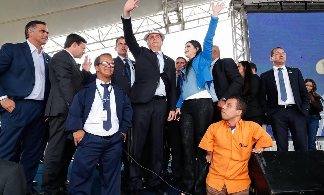 O presidente participou de cerimônia de inauguração na Bahia Foto: Alan Santos/PR