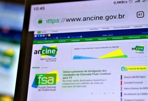 Ancine Foto: A7 Press / O Globo