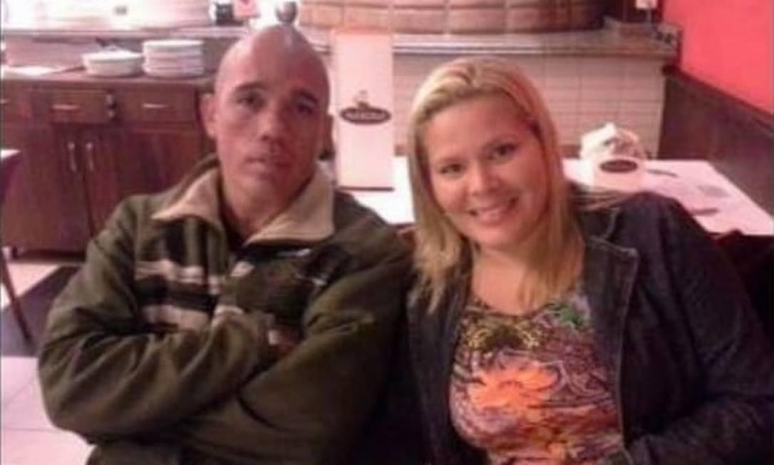 Wladimir e Luciana juntos, em foto compartilhada nas redes sociais Foto: Redes Sociais / Reprodução