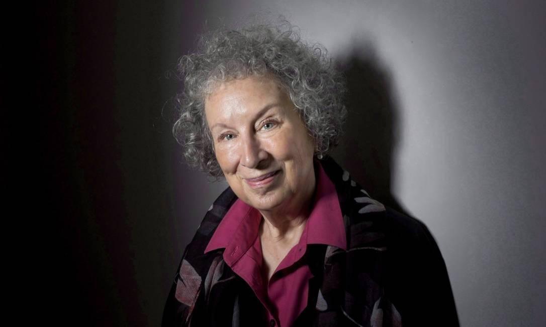 Margaret Atwood também é autora do sucesso 'O conto da aia' Foto: Darren Calabrese / Agência O Globo
