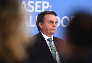 O presidente Jair Bolsonaro Foto: Evaristo Sá / AFP