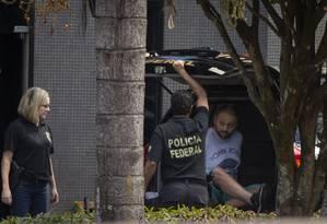 Walter Delgatti Neto, um dos presos pela Operação Spoofing, confessou ter feito os ataques Foto: Daniel Marenco / Agência O Globo