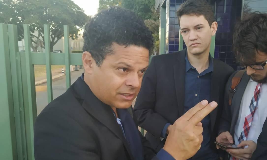 O advogado Ariovaldo Moreira defende Gustavo Elias Santos, o DJ de Araraquara Foto: Leandro Prazeres / Agência O GLOBO