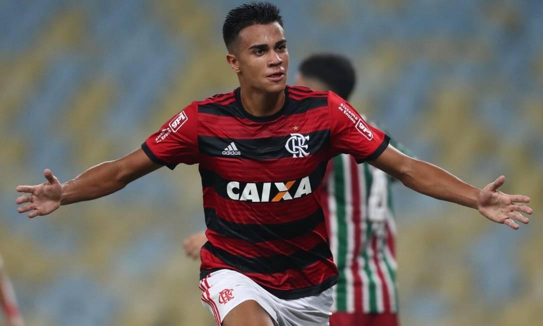 Reinier é um dos destaques das categorias de base do Flamengo Foto: Divulgação / Flamengo