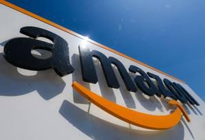 Amazon: projeções para trimestre atual também não agradaram. Foto: DENIS CHARLET / AFP