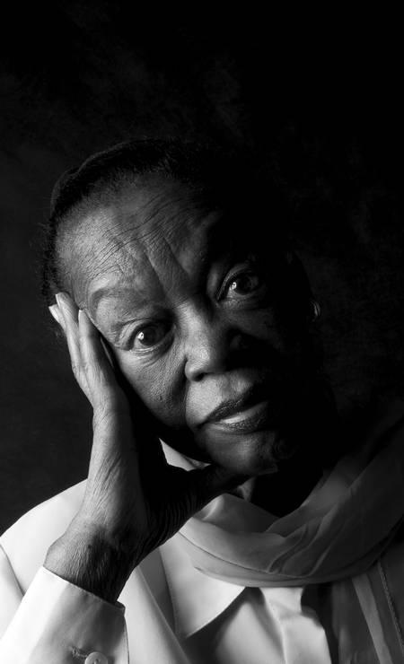 """Atriz Ruth de Souza em foto para o livro """"Black Faces"""" Foto: Marta Azevedo /"""