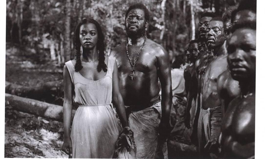 """Ruth de Souza no filme """"Sinhá Moça"""", de 1953 Foto:"""