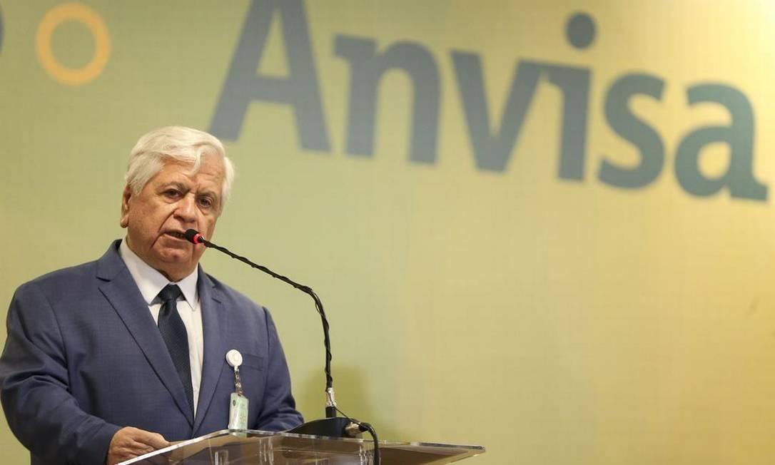 William Dib, presidente da Anvisa Foto: Marcelo Camargo / Agência Brasil