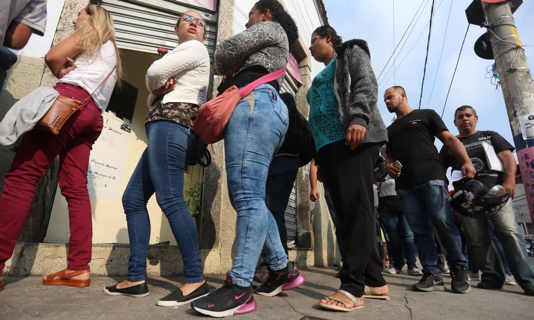 Caged: resultado é o melhor para o período desde 2014, ou seja, em cinco anos Foto: Fabiano Rocha / Agência O Globo
