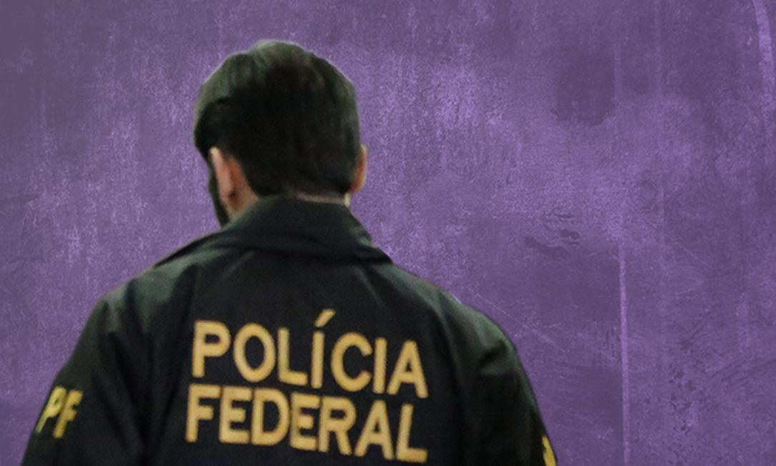 Uniforme da Polícia Federal é utilizado por bandidos que tentam se passar por agentes Foto: Agência O Globo