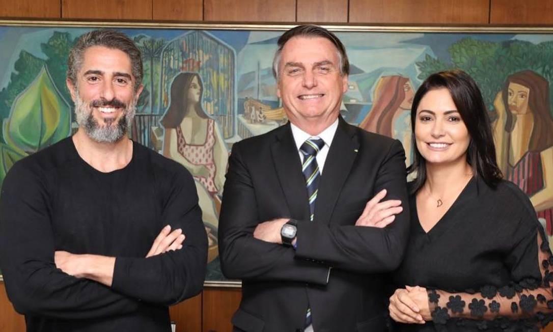 Marcos Mion foi à Brasília 'na condição de porta-voz involuntário do autismo', como ele diz Foto: Reprodução/Facebook