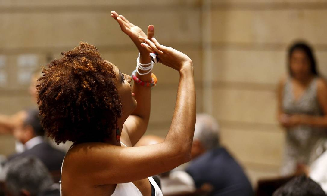 Marielle ganha segunda homenagem em capital europeia Foto: Pablo Jacob / Agência O Globo
