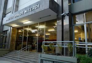 A Emusa funciona na sede da Prefeitura de Niterói Foto: Fernando Frazão/Arquivo / Agência O Globo