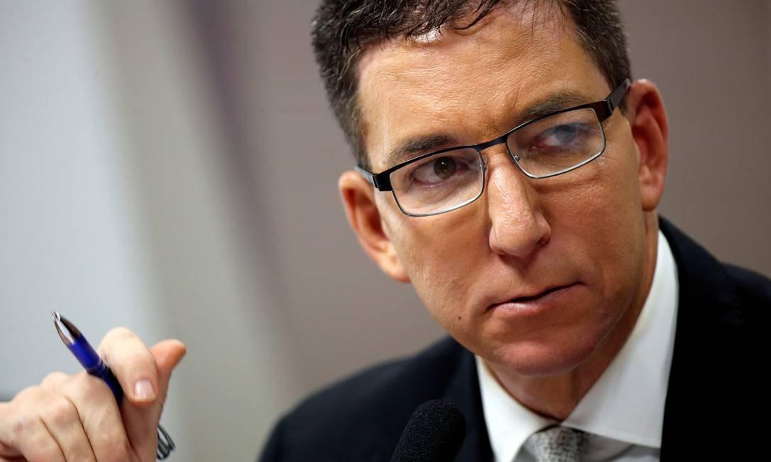 O jornalista Glenn Greenwald foi denunciado pelo Ministério Público Foto: ADRIANO MACHADO 11-07-19 / REUTERS