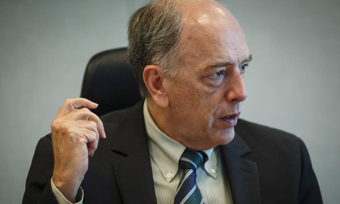 Pedro Parente, presidente do Conselho da BRF Foto: Fernando Lemos / Agência O Globo
