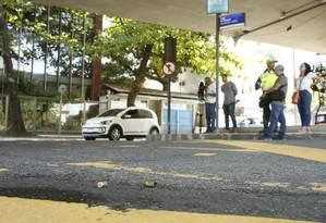 Ataque aconteceu na manhã deste domingo Foto: Antonio Scorza / Agência O Globo
