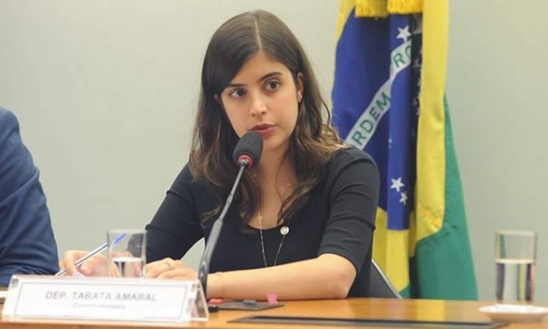 A deputada federal Tabata Amaral (PDT-SP) Foto: Reprodução/Instagram