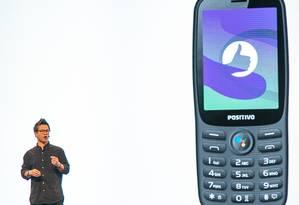 Aparelho foi apresentado por Marvin Chow, vice-presidente de Marketing do Google, em evento no Brasil Foto: SAMUEL K. / Google