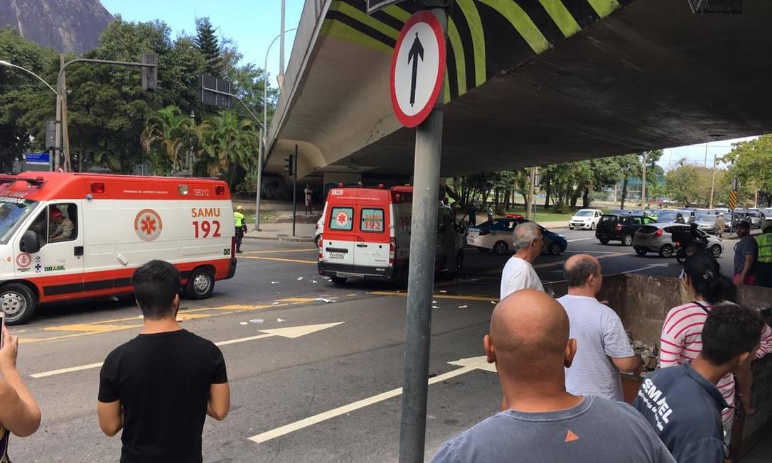 Ataque de morador de rua no domingo terminou com dois homens mortos Foto: Reprodução