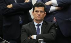 O ministro Justiça, Sergio Moro. Foto: Jorge William / Agência O Globo