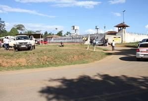 Entrada do Centro de Recuperação Regional de Altamira, no Pará Foto: Vitor Danilo