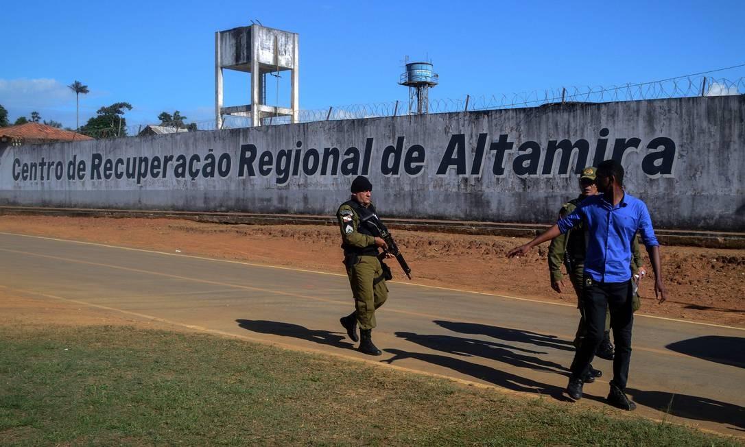Resultado de imagem para Chacina em presídio de Altamira é a segunda maior desde o Carandiru