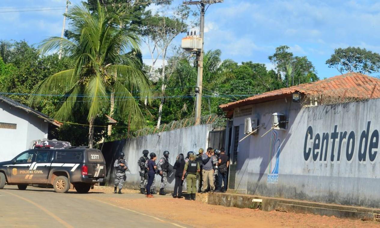 Uma rebelião com cinco horas de duração deixou 57 mortos nesta segunda-feira no Centro de Recuperação Regional de Altamira, no Sudoeste do Pará. Foto: STRINGER / REUTERS