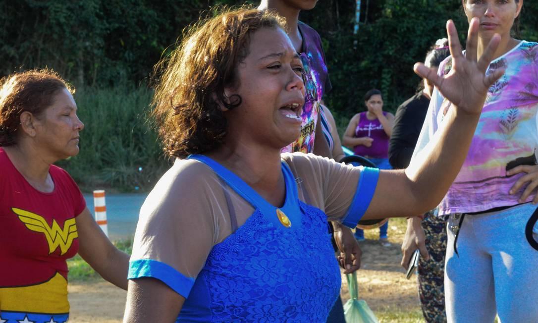 O governo do Pará determinou a transferência de 46 detentos suspeitos de participação no massacre. Desses, dez líderes de facções irão para um presídio federal, em vagas oferecidas pelo ministro da Justiça e Segurança Pública, Sergio Moro. Foto: BRUNO SANTOS / AFP