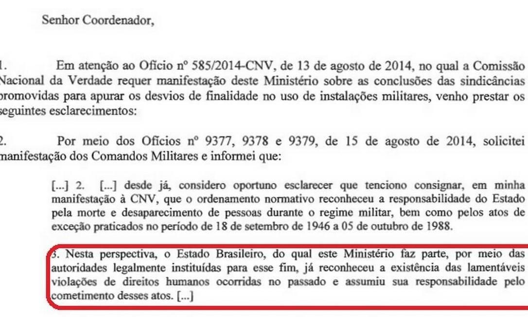 """Documento reconhece responsabilidade do Estado em """"mortes e desaparecimentos"""" Foto: Comissão da Verdade / Divulgação"""