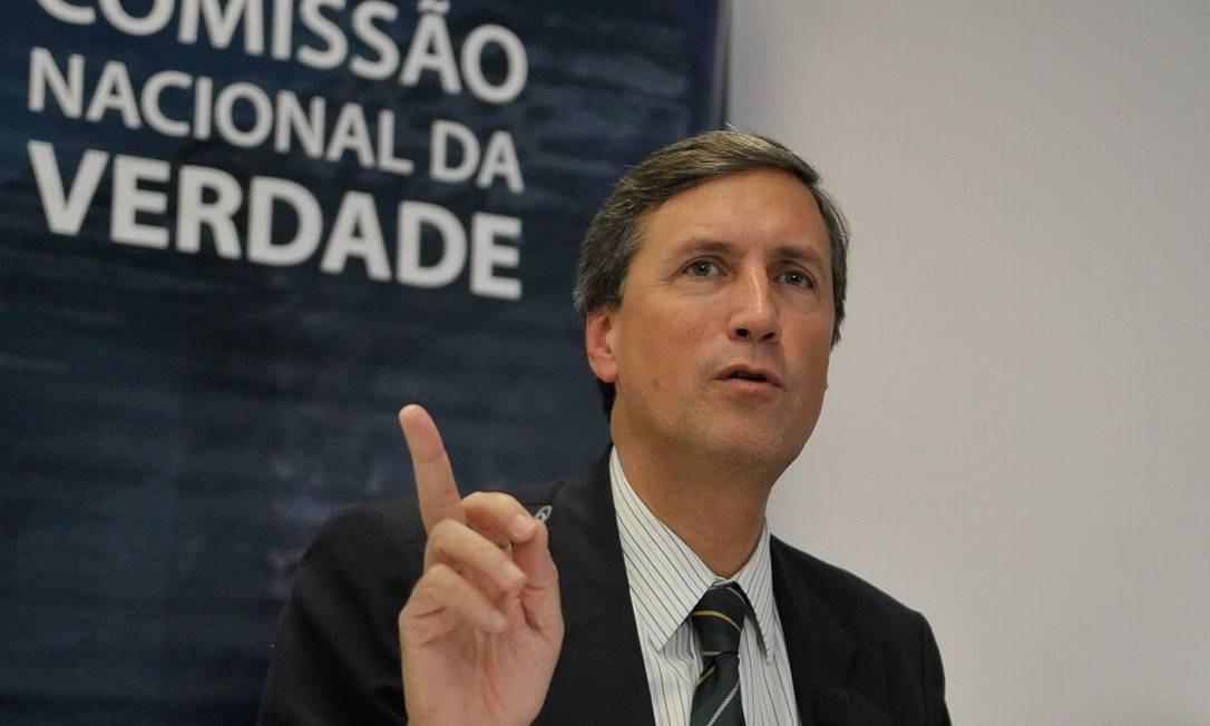 Pedro Dallari, advogado e ex-coordenador da Comissão da Verdade Foto: José Cruz / Agência Brasil