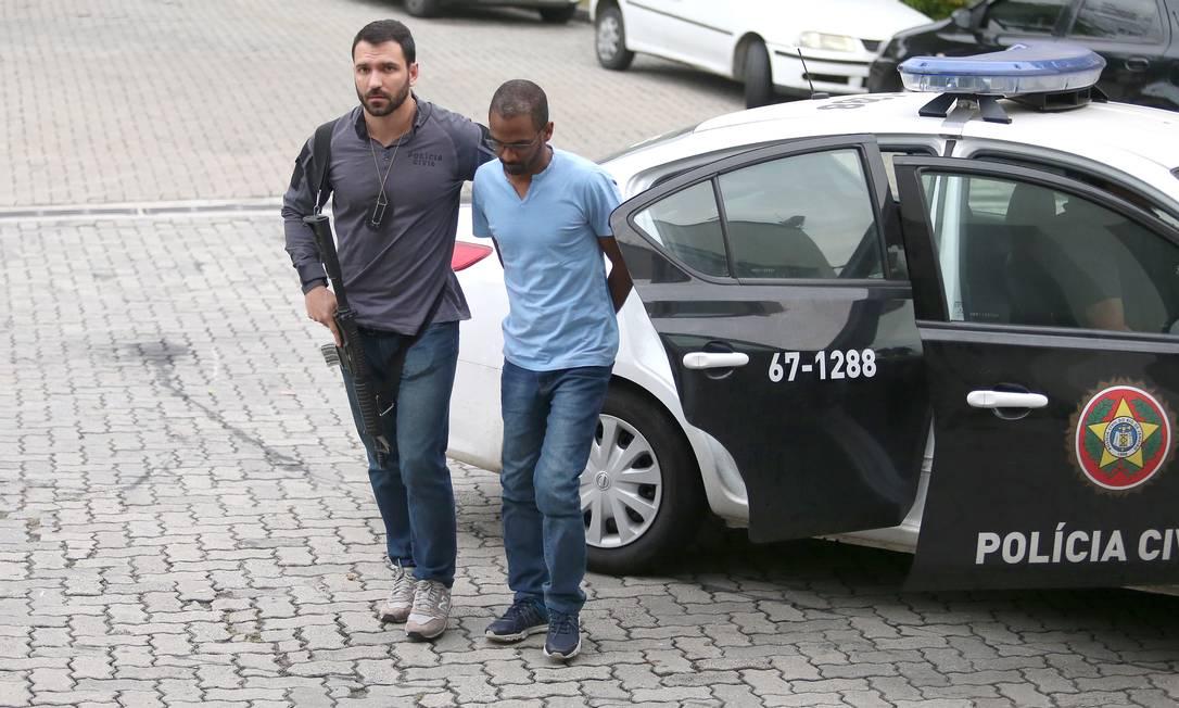 O empresário Vitor Alves da Silva Jr foi um dos presos na operação Foto: Fabiano Rocha / Agência O Globo