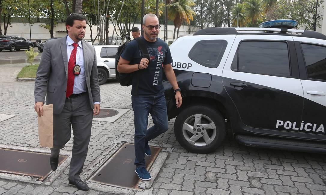 Preso na ação, servidor André Brandão Ferreira atuou como pregoeiro nos contratos fraudados Foto: Fabiano Rocha / Agência O Globo