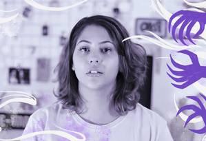 A youtuber Dora Figueiredo ressaltou a importância de se falar sobre o assunto publicamente Foto: Reprod~ção/ Youtube