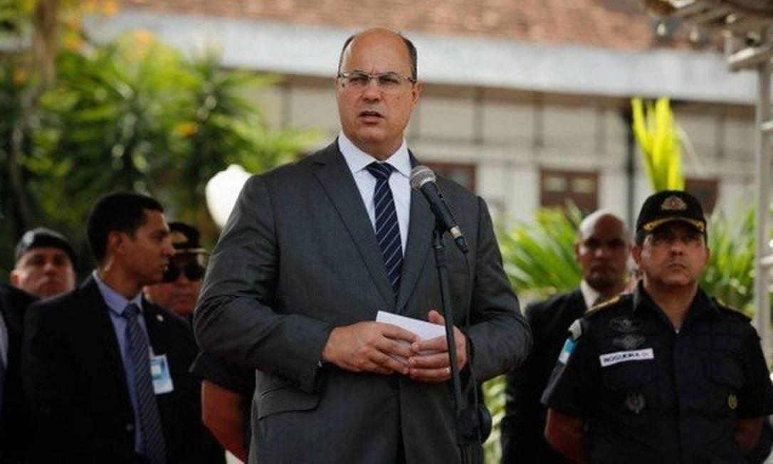 Segundo Witzel, 'Atos de baderna não serão admitidos' Foto: Pablo Jacob / Agência O Globo