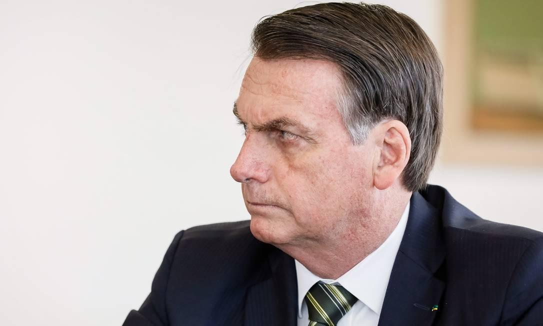 Presidente da República Jair Bolsonaro durante reunião da Comissão de Ética Pública Foto: Isac Nobrega 30/07/2019 / Agência O Globo