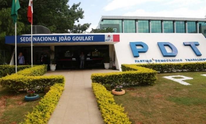 Sede Nacional do PDT, em Brasília Foto: Divulgação