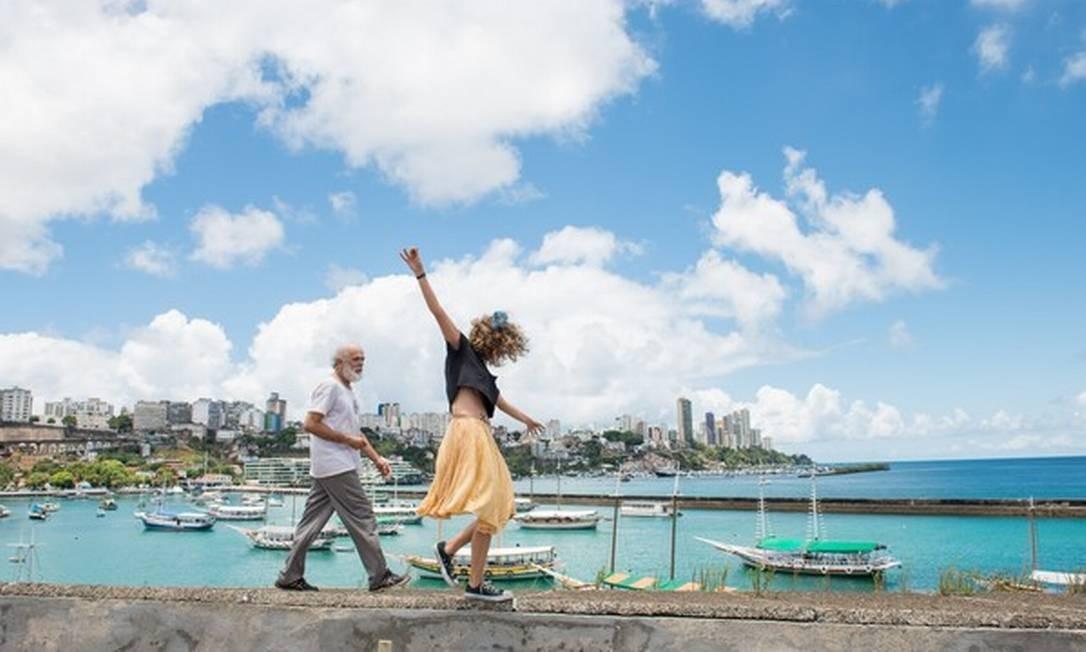 Cena do filme 'Abaixo a gravidade' Foto: Divulgação