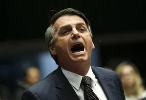O presidente Jair Bolsonaro Foto: Marcelo Camargo / Agência Brasil
