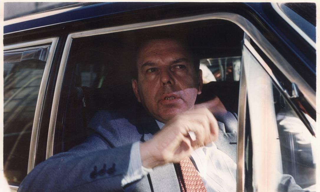 03.05.1991 - Arquivo / Marcos Issa - AG - Exclusivo - Eduardo Seabra Fagundes (Procurador do Estado e da República). Negativo 91-13593 Foto: Marcos Issa / Agência O Globo