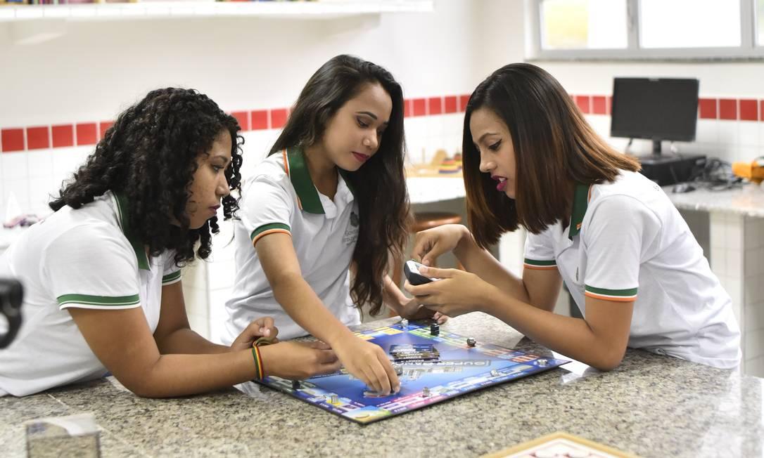 Colégios estaduais do Ceará já têm 300 eletivas, como Ciência Através dos Jogos Foto: Divulgação