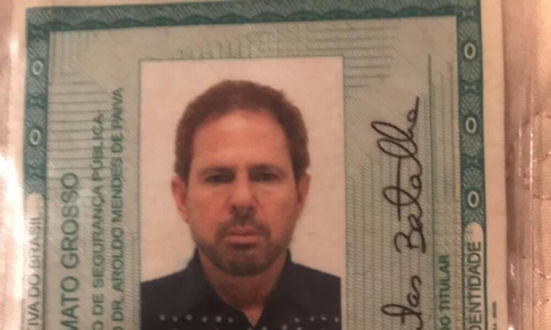 RG falso de Dario Messer Foto: Reprodução