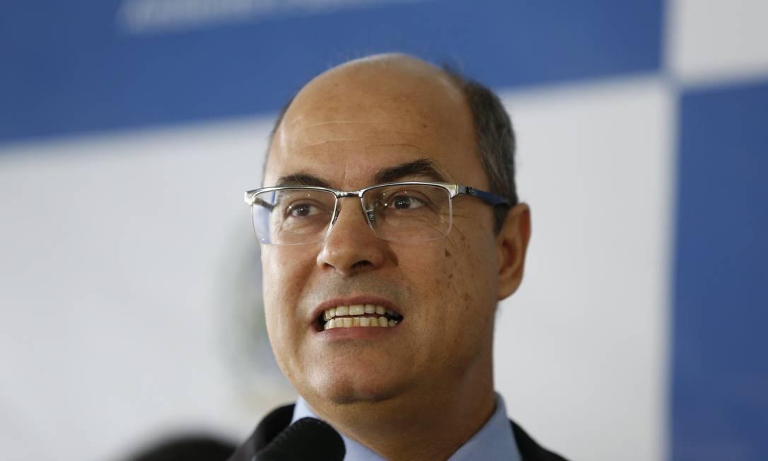 'Atos de baderna não serão admitidos', disse o governador do Rio, Wilson Witzel sobre o 'Maconhaço' Foto: Roberto Moreyra / Agência O Globo