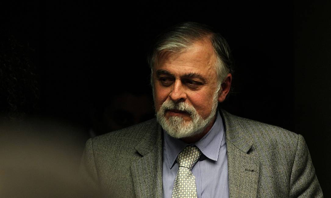 Paulo Roberto Costa, diretor de Refino e Abastecimento da Petrobras entre 2004 e 2012, preso no Rio de Janeiro, em 20 de março de 2014 Foto: Jorge William / Agência O Globo