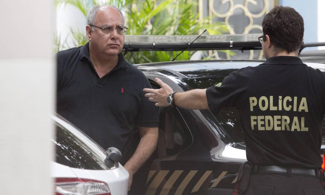 O ex-diretor de Serviços da Petrobras Renato Duque Foto: Márcia Foletto / Agência O Globo