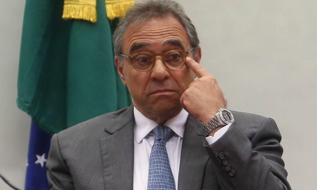 O empresário Milton Pascowitch, preso em São Paulo, em 21 de maio de 2015, durante a 13ª fase da Lava-Jato. Foi apontado como um dos operadores do esquema Foto: André Coelho / Agência O Globo