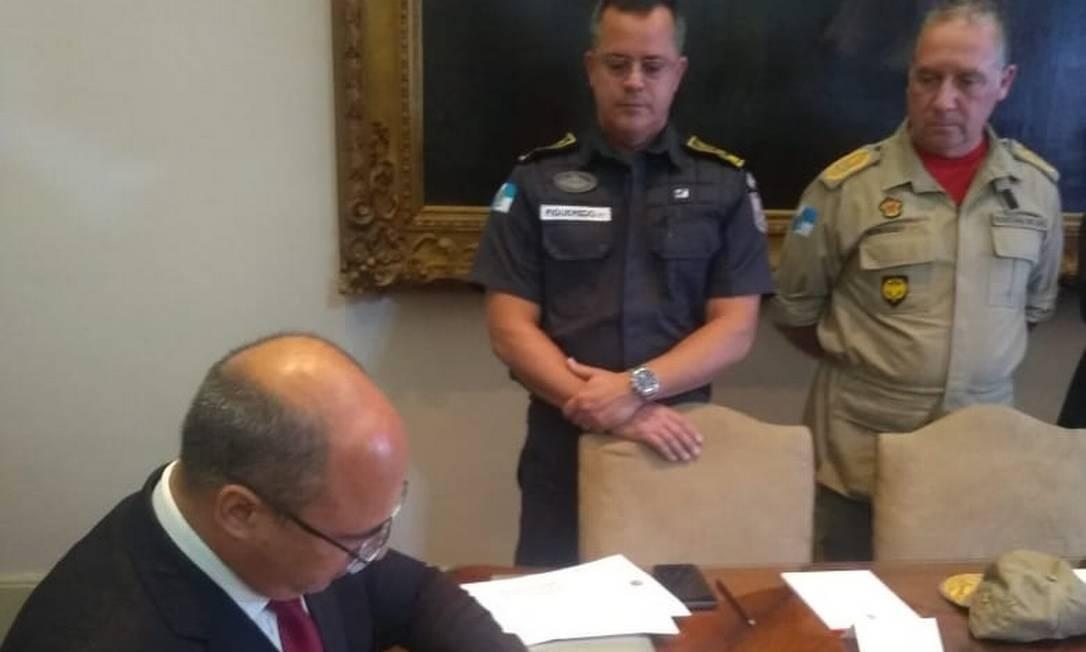 Witzel cria a patente de 'General' para Polícia Militar e Bombeiros Foto: Reprodução